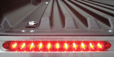 LED Lighting on CargoMax Trailer