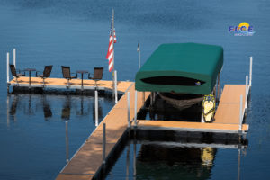 Floe International Boat Lift and Floating Dock
